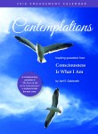 Contemplations 2018 Calendar cover