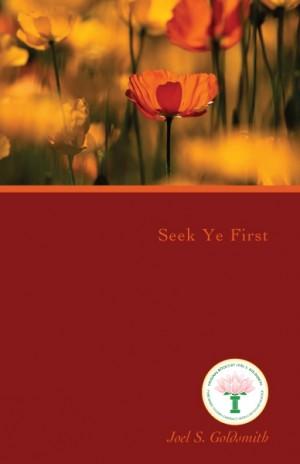 Seek Ye First cover v1